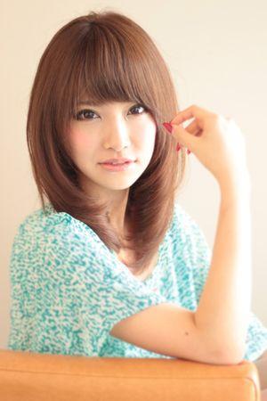 セミディひし形シルエット | AFLOAT JAPANのヘアスタイル - アフロートジャパン 【銀座の美容室】 | 関東・銀座の美容室 | Rasysa(らしさ)