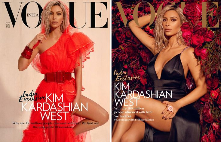 Kim Kardashian just showed the world her brand new pink hair, and now the Internet is excited about her latest Vogue India pics. We must admit that they're really beautiful. For the magazine's cover, Kim looks absolutely amazing rocking a black satin dress while she was standing in...