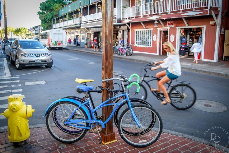 The Streets of Lahaina, Maui - Dan Oldfield Photography