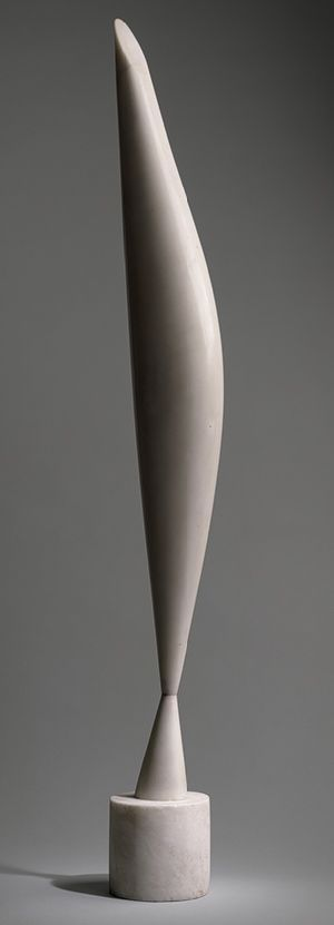 Bird in Space :: Constantin Brancusi