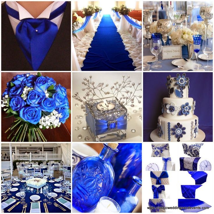 Royal Blue Wedding Centerpieces: 20 Best Royal Blue And Silver Decor Images On Pinterest