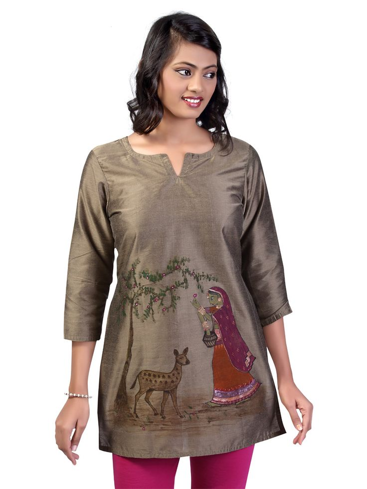 27 best images about kurti painting on Pinterest   Oily ...