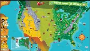 LeapFrog: Tag: Interactive United States Map Age: 4 - 8 Years Old Language: English UPC: 708431240254