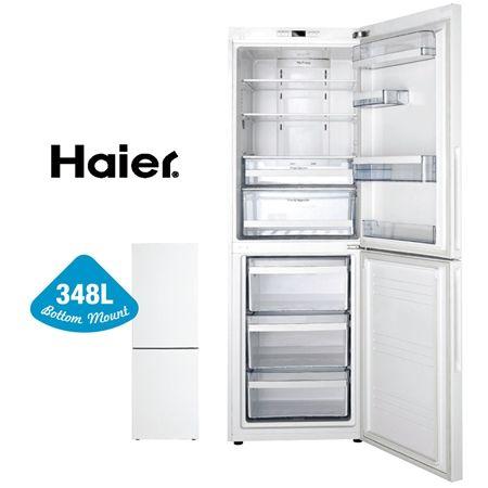 Haier Bottom Mount Refrigerator - 348 - White