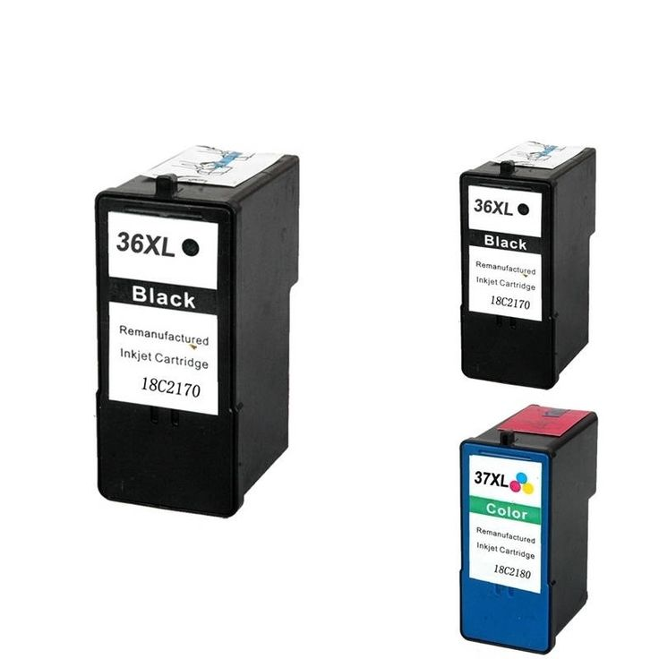 Insten Remanufactured Ink Cartridge Replacement for Lexmark #1335071