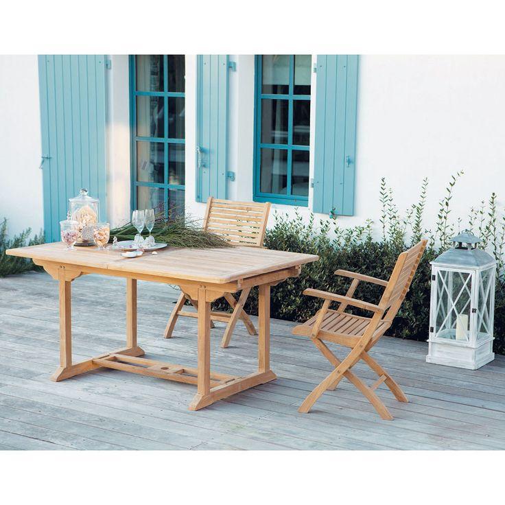 Les 155 meilleures images propos de mdm outdoor sur pinterest style marin tables et osier - Table de jardin maison du monde dijon ...