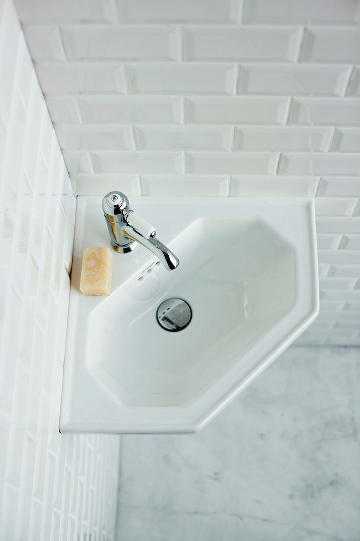 Cloakroom Pieces For Small But Luxury Es Corner Basin From Burlington Bathrooms Http