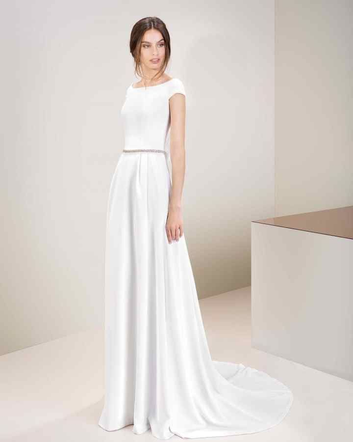 vestidos novia informales barcelona