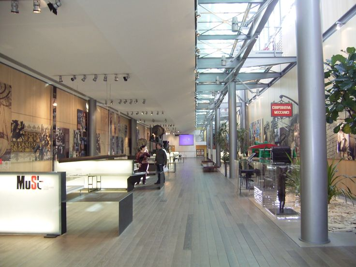 MUST: museo storico della tecnologia Sacmi, allestimento