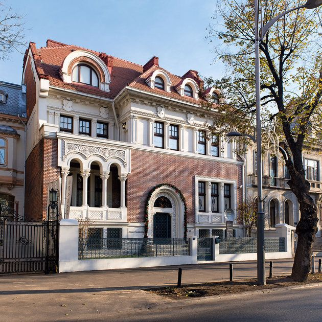 Bucarest Romania designed by prof. Duiliu Marcu