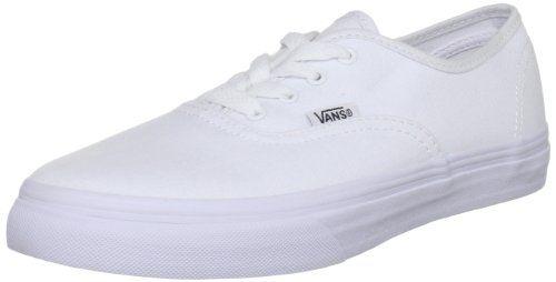 Vans Authentic, Unisex-Kinder Lauflernschuhe Sneakers, Weiß (Tri-Tone Suede), 45 1/3 EU - http://on-line-kaufen.de/vans/45-1-3-eu-vans-authentic-vjxi4ll-unisex-kinder