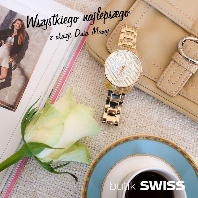 Z okazji Dnia Mamy przy zakupie damskiego zegarka otrzymasz modną bransoletkę w prezencie. Zapraszamy do butiku SWISS Oferta ważna w dniach 21 - 26 maja 2016r.