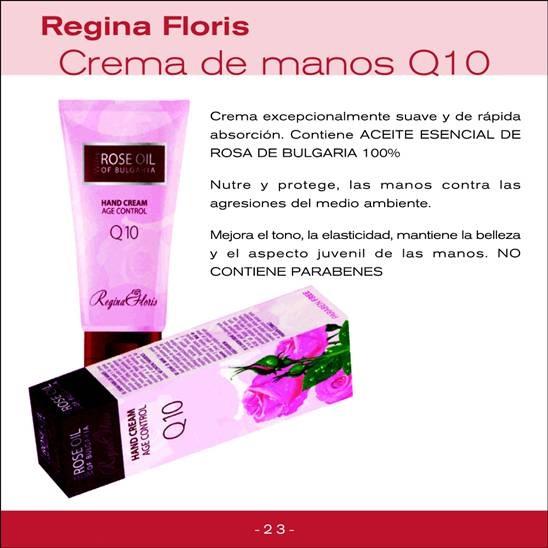 Crema de manos antiage Q10, Regina Floris, PVP: 9,31€