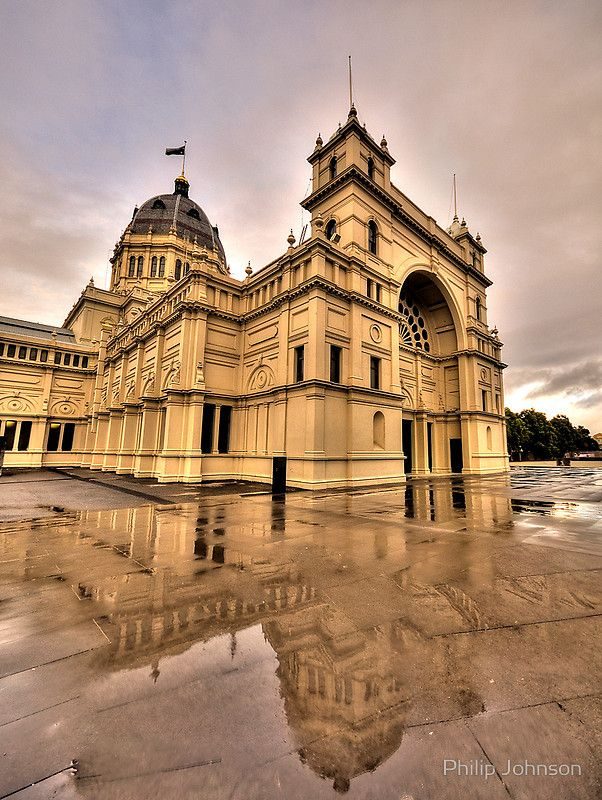 """""""Heritage In Reflection"""" - Royal Exhibition Building, Melbourne"""