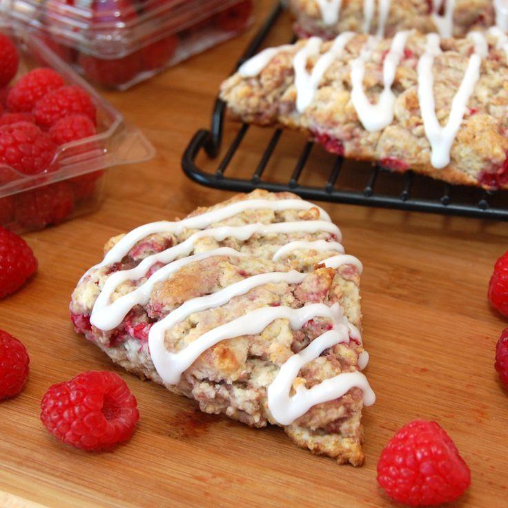Sweet Pea's Kitchen » Raspberry Lemon Scones