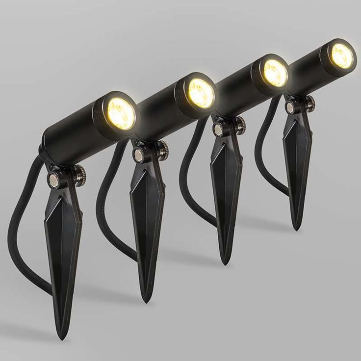 Set van 4 LED spot Garly IP68 - Lampenlicht.nl