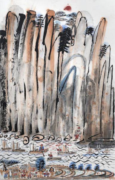 Artist Fang Zhaolin - FindArtinfo