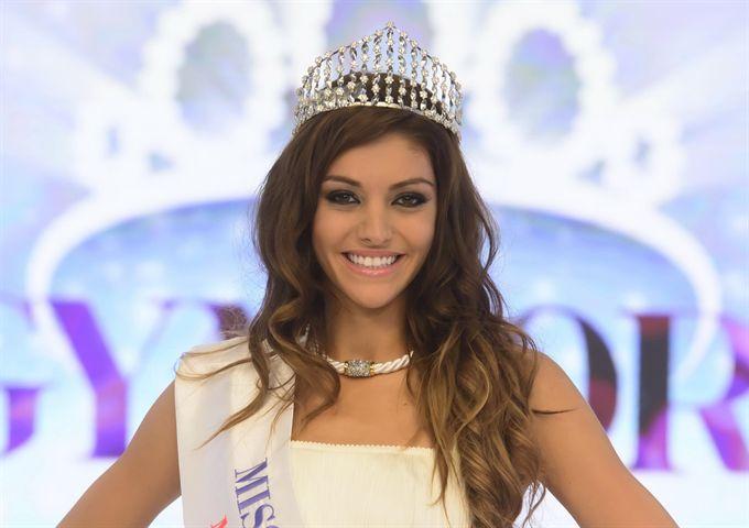 Edina Kulcsár (Miss World Hungary 2014, Miss World first runner up in 2014, Miss Europe 2014)
