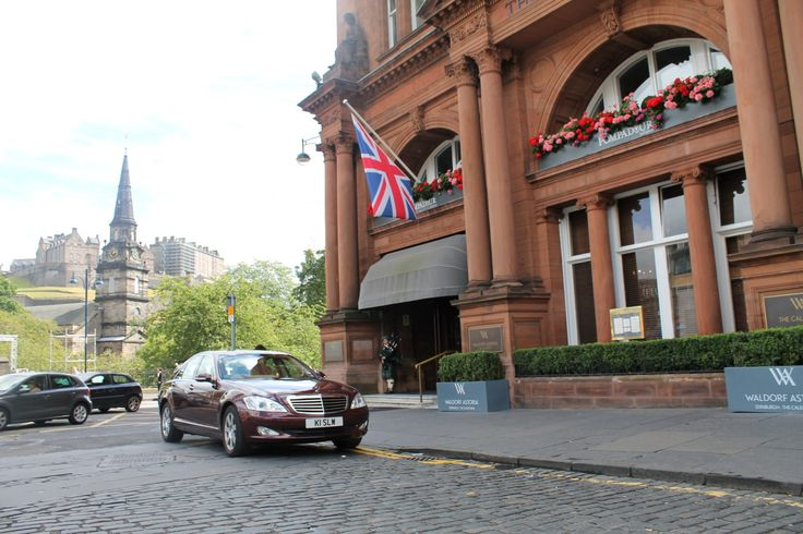Mercedes S Class - Waldorf Astoria Edinburgh, The Caledonian
