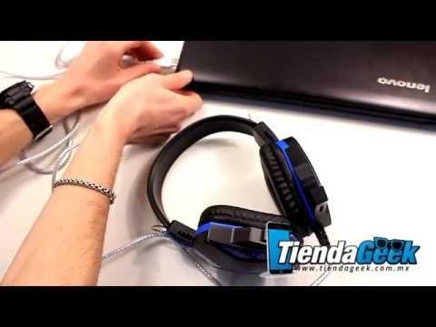 Audifonos Gamer Luz Led y Microfono