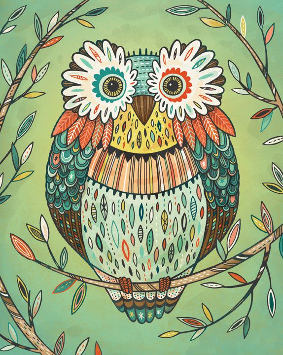 'Owl' by Anni Betts