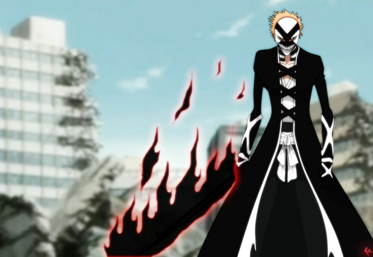 Ichigo - New Bankai Hollow Masked | Bleach | Pinterest