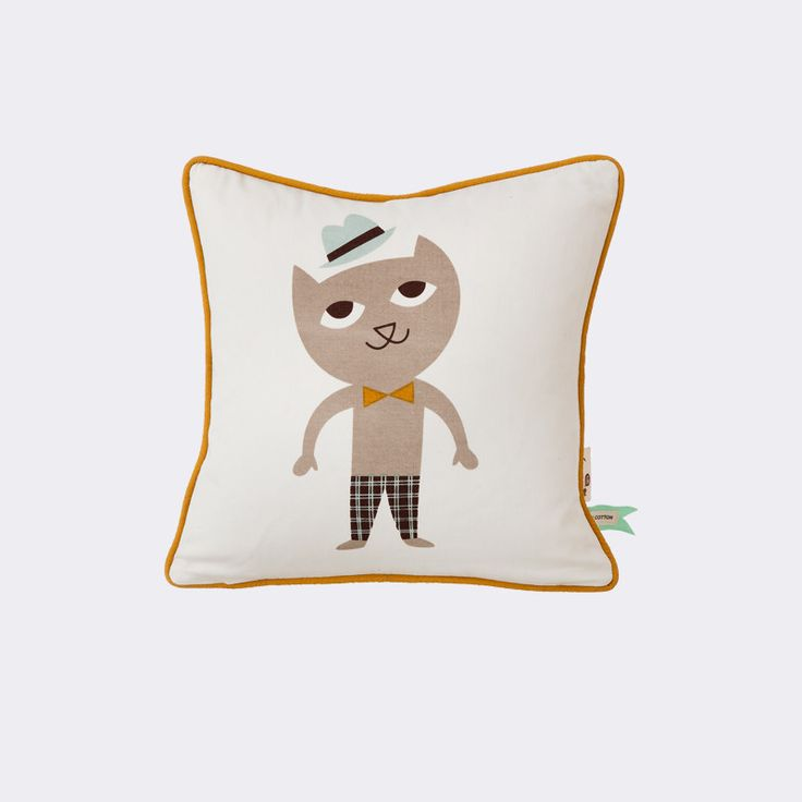 Cat Cushion design by Ferm Living