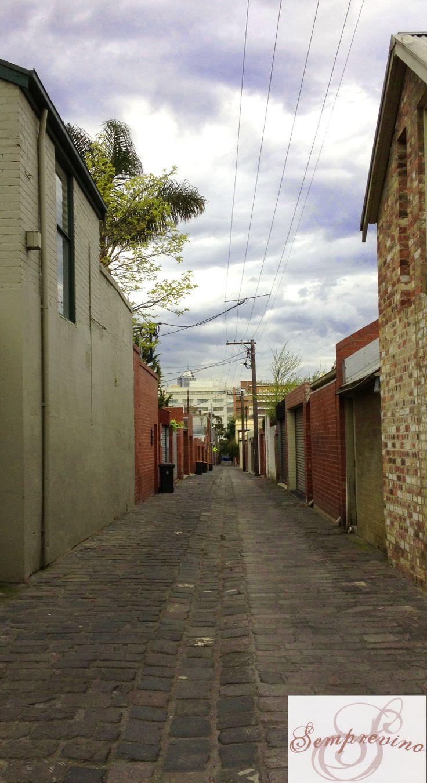 A Parkville Laneway, Parkville, Melbourne, Victoria, Australia. September 2012.