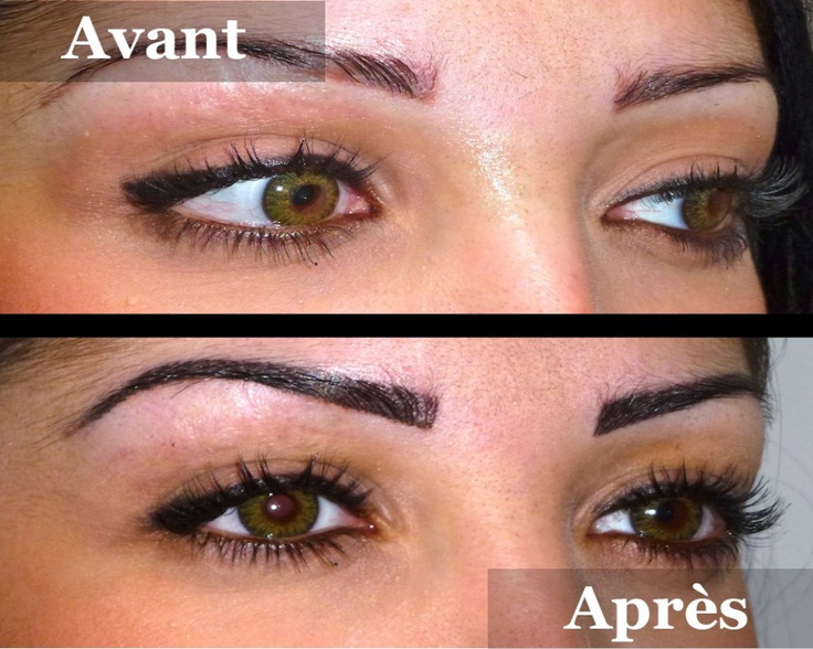 15 best images about sourcils maquillage permanent by - Maquillage permanent sourcil poil poil ...