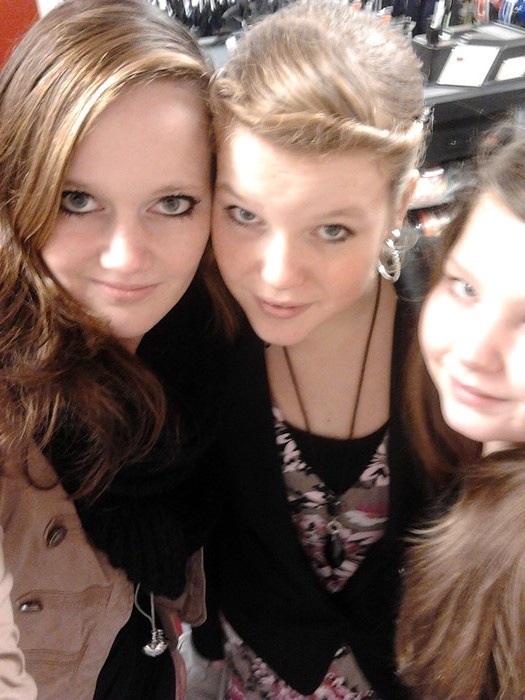 Last year with Rosalie and Gemma