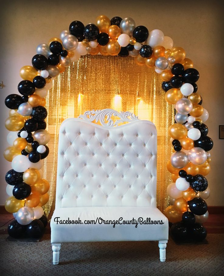 25+ Best Balloon Arch Ideas On Pinterest