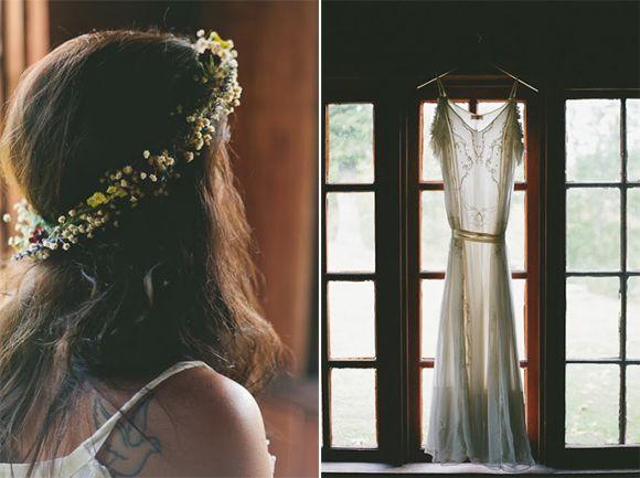 Hochzeit rustikaler Art ♥ Stylefruits Inspiration ♥ #Brautkleid #Hochzeitsfeier