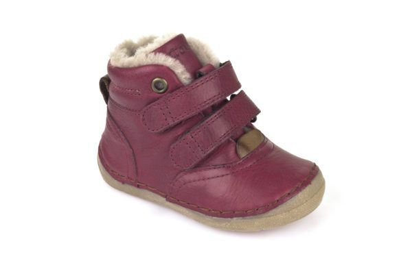 Froddo Ankle Boots Bordeaux with Fur