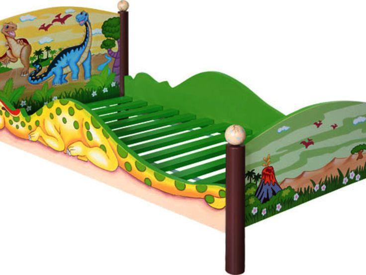 Dinosaur Toddler Bed