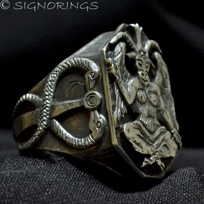 Occult Eye Ring