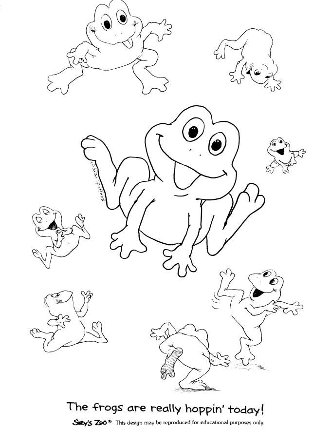 Suzys Zoo Coloring Pages Frog Zoo Coloring Pages Frog Coloring Pages Giraffe Coloring Pages
