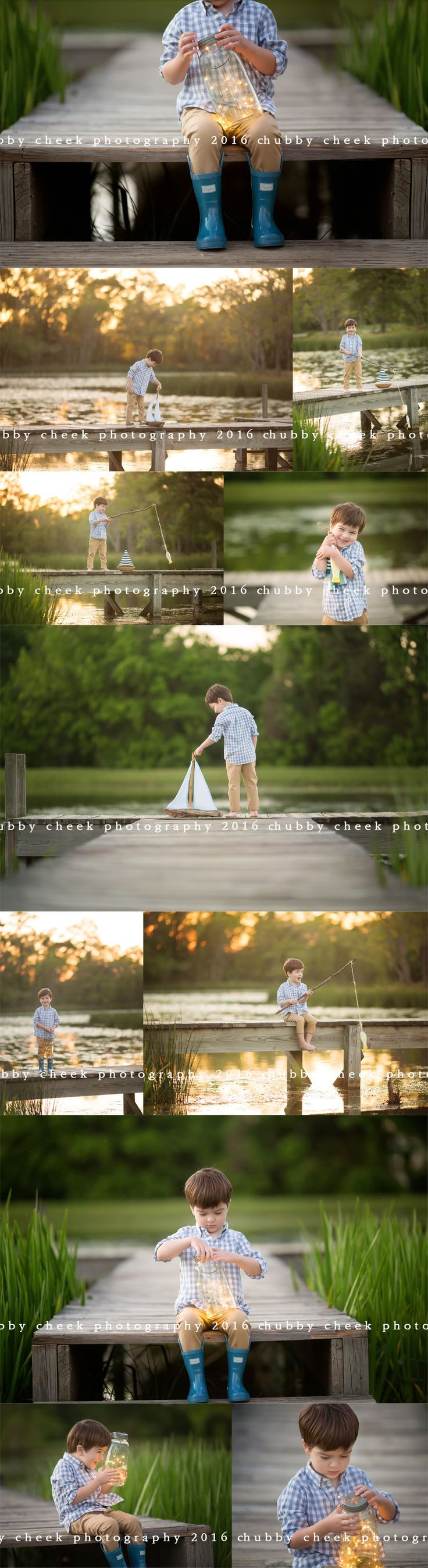 fireflies, fishin and little boy hugs… chubby cheek photography the woodlands tx photographer