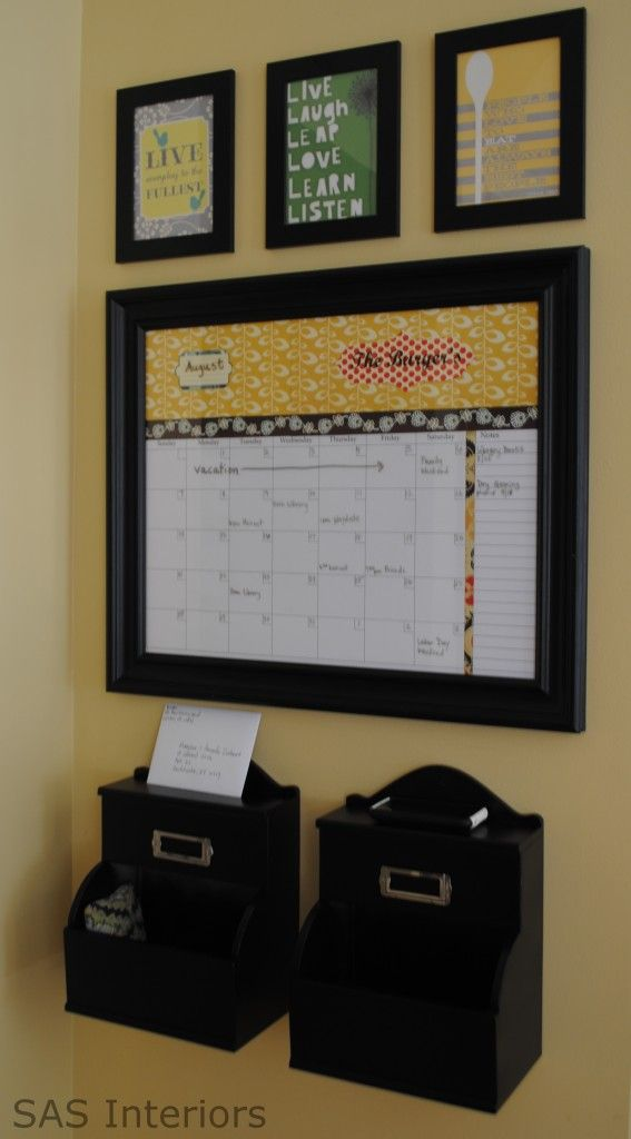 Calendar For Organization : Command center home management pinterest