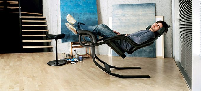 Gravity Balans - I first saw this chair 12 years ago and still want one.