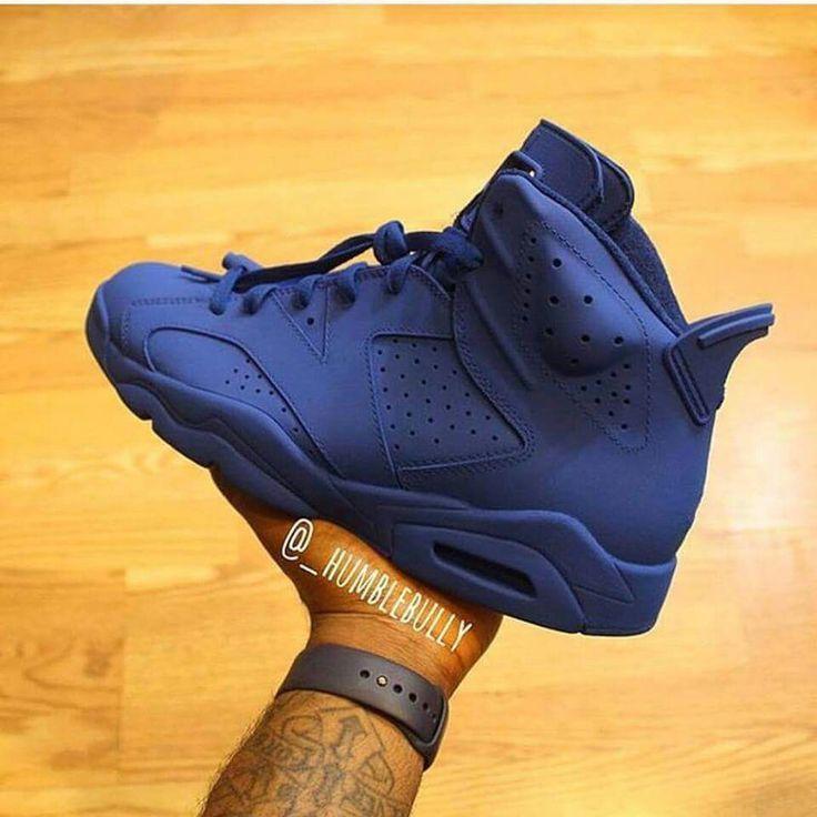 Authentic Nike Air Jordan 6 Cheap sale South Beach Blue Pink Bla