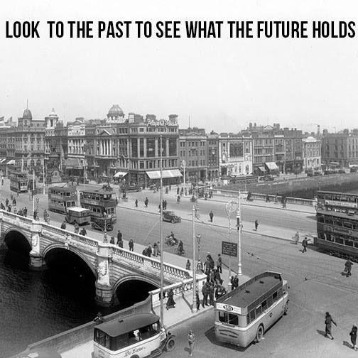 Dublin, O'Connell Street, 1930's