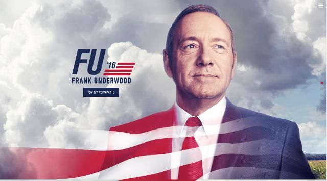 """House of Cards """"FU2016"""""""