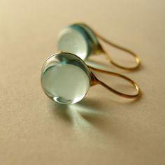 Teardrop – mini size – aqua blue | knap.thebase.in