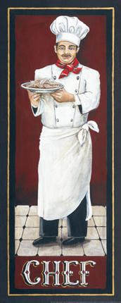 Chef Giclee Print