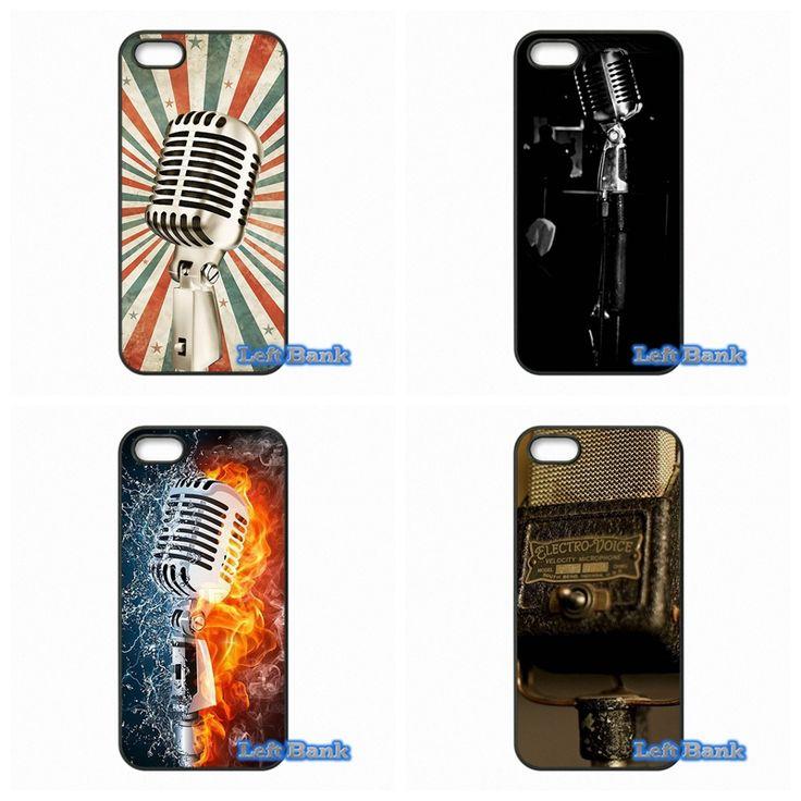 Old School Style Microphone Music Hard Phone Case Cover For LG G2 G3 G4 G5 Mini G3S L65 L70 L90 K10 For LG Google Nexus 4 5 6 6P
