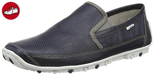 Rieker 08989 Loafers & Mocassins-Men, Herren Slipper, Blau (atlantis/dust/denim/15), 42 EU - Rieker schuhe (*Partner-Link)