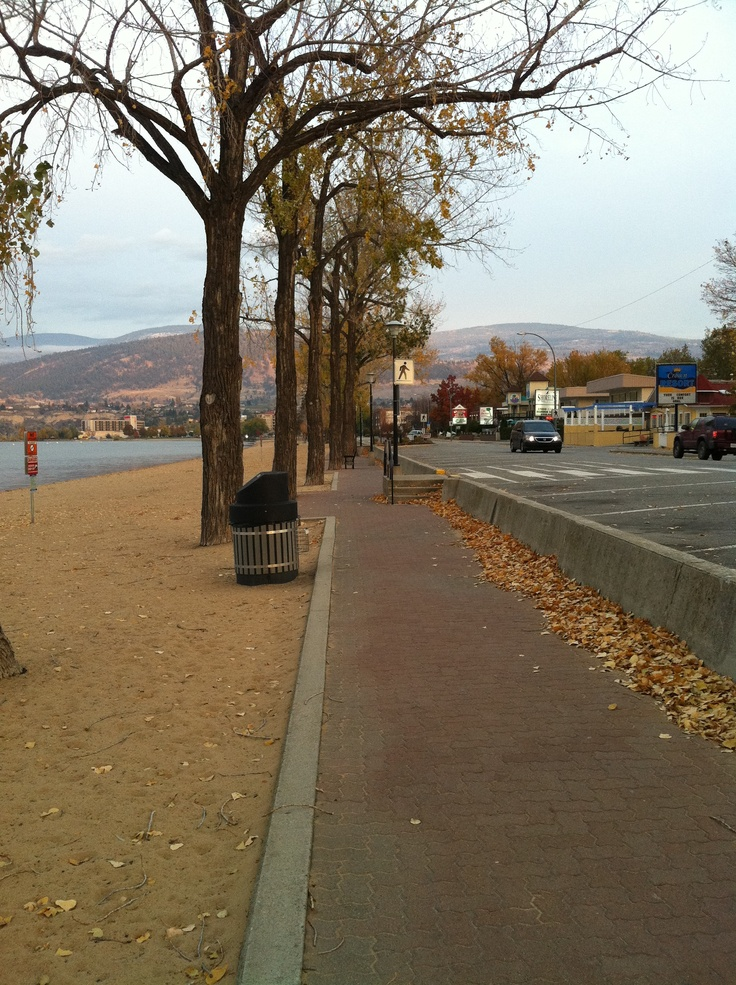 Penticton-Lakeshore Drive ♥ Loved and pinned by www.thatguyvanlines.com