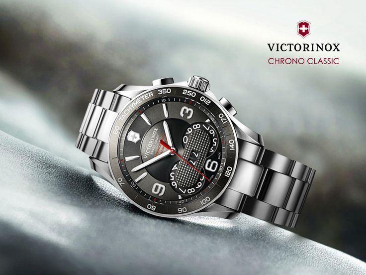 For the man who loves something unique and classy on his wrist. #VictorinoxWatches #Mensfashion #ThePrimeWatches Visit:https://www.theprimewatches.com/victorinox-chrono-classic-241618.html