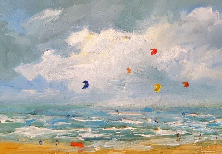 Wim van de Wege - Beachscape Zeeland Summer