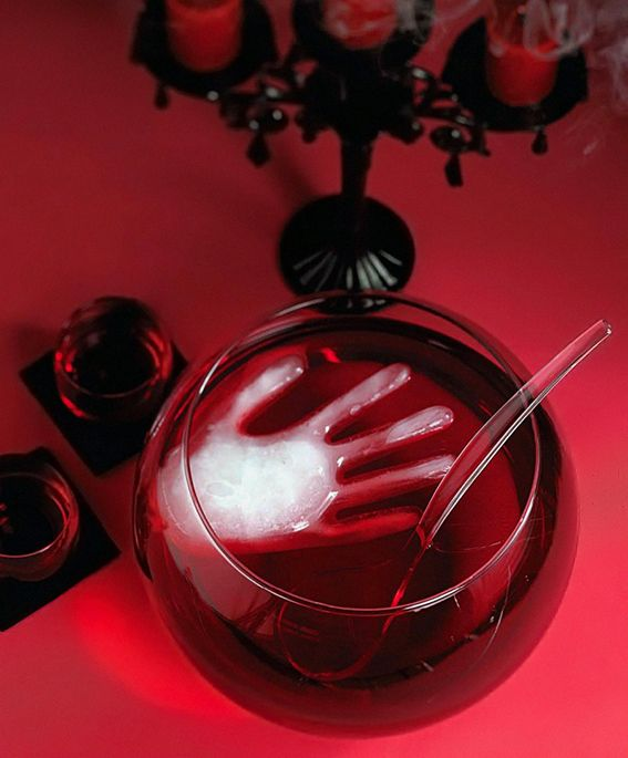 HEALTH POTION - Screaming Red Punch w/ An Ice Hand